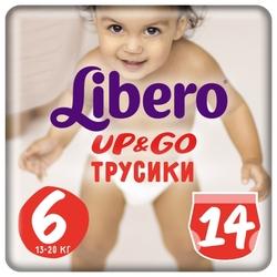Libero трусики Up & Go 6 (13-20 кг) 14 шт.