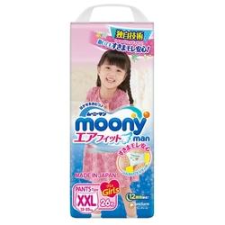 Moony трусики Man для девочек (13-25 кг) 26 шт.