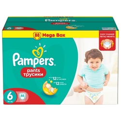 Pampers трусики Pants 6 (16+ кг) 88 шт.