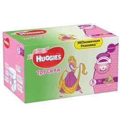 Huggies трусики для девочек 5 (13-17 кг) 96 шт.
