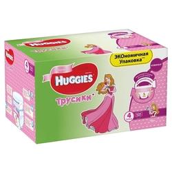 Huggies трусики для девочек 4 (9-14 кг) 104 шт.