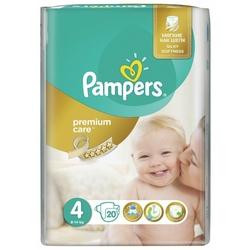 Pampers подгузники Premium Care 4 (8-14 кг) 20 шт.