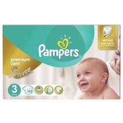 Pampers подгузники Premium Care 3 (5-9 кг) 120 шт.