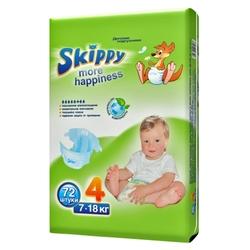 Skippy подгузники More Happiness 4 (7-18 кг) 72 шт.