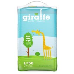 LOVULAR трусики Giraffe L (9-14 кг) 50 шт.