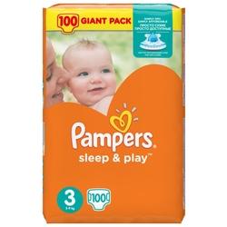 Pampers подгузники Sleep&Play 3 (5-9 кг) 100 шт.
