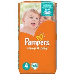 Pampers подгузники Sleep&Play 4 (8-14 кг) 68 шт.