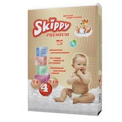 Skippy подгузники Premium 4 (7-18 кг) 74 шт.