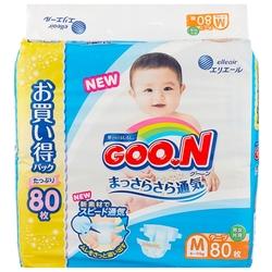 Goo.N подгузники Ultra (6-11 кг) 80 шт.