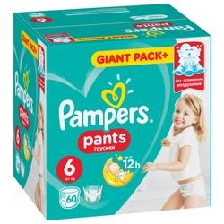 Pampers трусики Pants 6 (15+ кг) 60 шт.