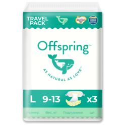 Offspring подгузники L (9-13 кг) 3 шт.