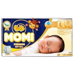Momi трусики ночные Premium L (9-14 кг) 30 шт.