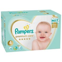 Pampers подгузники Premium Care 4 (9-14 кг) 82 шт.