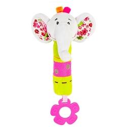 Прорезыватель-погремушка Жирафики Слонёнок Тим 93557