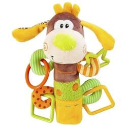 Прорезыватель-погремушка Жирафики Пёсик Том 93558