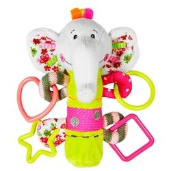 Прорезыватель-погремушка Жирафики Слонёнок Тим 93568