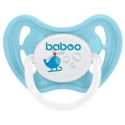 Пустышка силиконовая ортодонтическая baboo Transport 6+ м (1 шт.)
