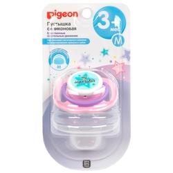 Пустышка силиконовая анатомическая Pigeon My Superstar 3+ (1 шт)