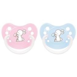 Пустышка силиконовая анатомическая Canpol Babies Little cuties 0-6 м (1 шт)