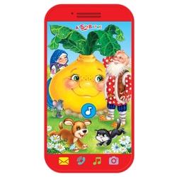 Интерактивная развивающая игрушка Азбукварик Мини-смартфончик Репка