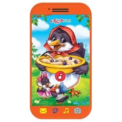 Интерактивная развивающая игрушка Азбукварик Мини-смартфончик Сорока-белобока