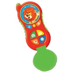 Интерактивная развивающая игрушка Азбукварик Телефончик Львёнка