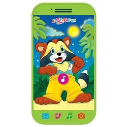 Интерактивная развивающая игрушка Азбукварик Мини-смартфончик Крошка Енот
