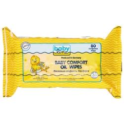 Влажные салфетки BabyLine Baby comfort Oil