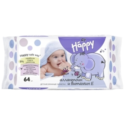 Влажные салфетки Bella Baby happy Allantoin + vitamin E