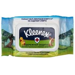 Влажные салфетки Kleenex Бережная Защита Disney антибактериальные