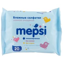 Влажные салфетки Mepsi Нежное очищение