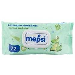 Влажные салфетки Mepsi с Алое Вера